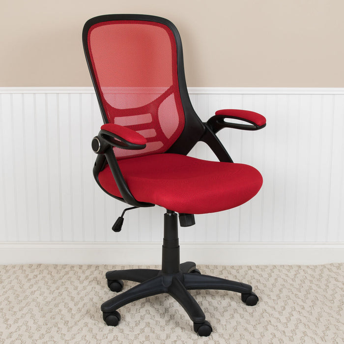 Atlanta Furniture Co. Red Mesh Office Chair