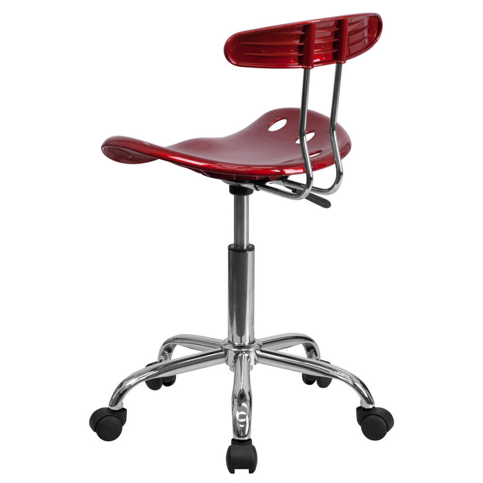 Atlanta Furniture Co. Wine Red Tractor Task Chair