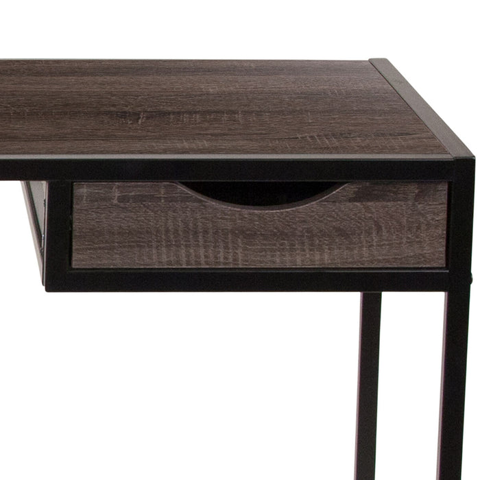 Atlanta Furniture Co. Driftwood Desk with Drawer