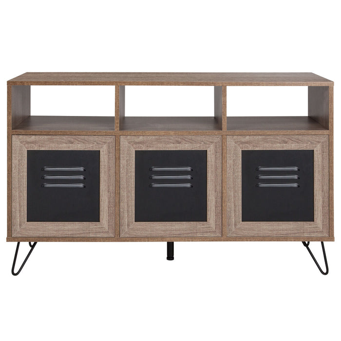 "Atlanta Furniture Co. 44""W Rustic Console Cabinet"