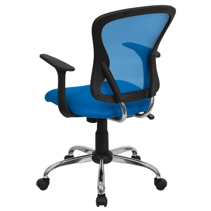 Atlanta Furniture Co. Blue Mid-Back Task Chair