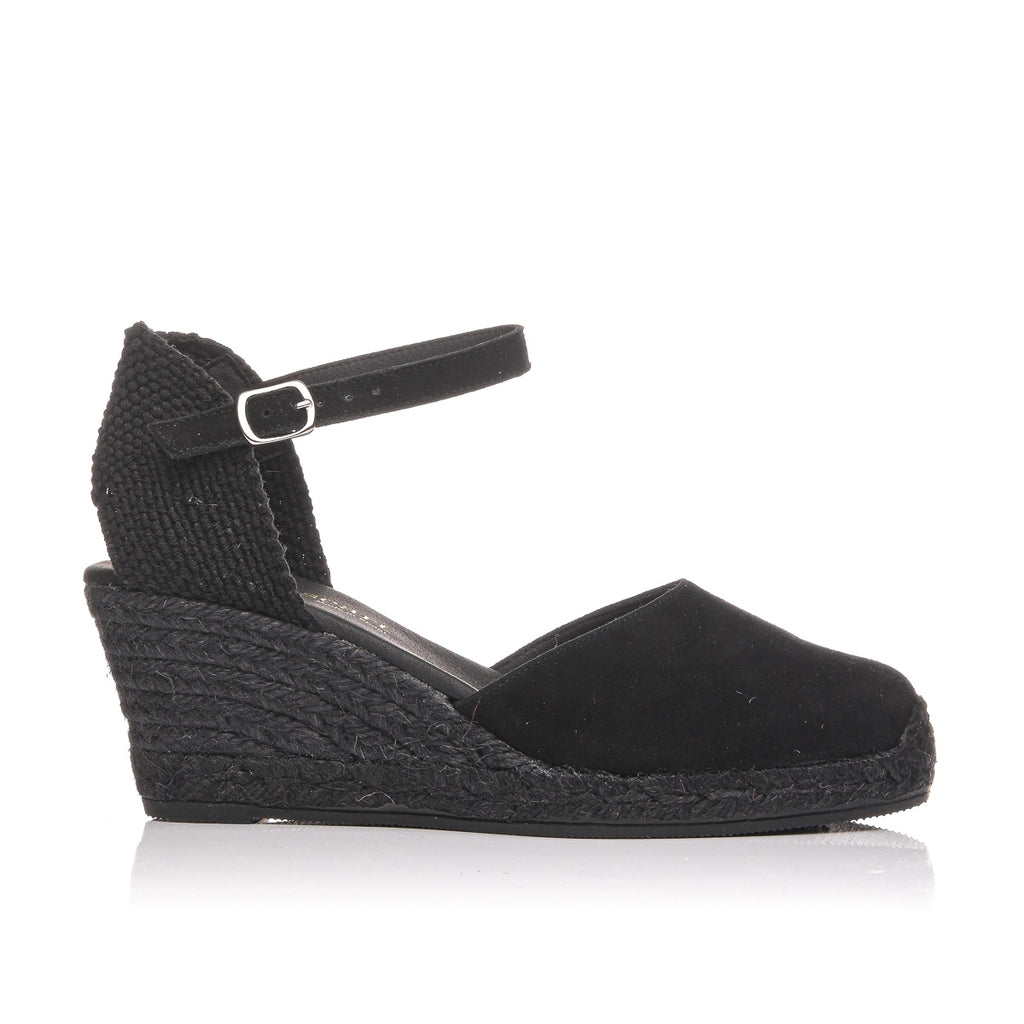 PASEART  BLACK ESPADRILLES