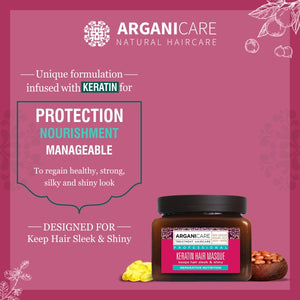Arganicare Natural - Anti-hairfall Luxury Treatment Set (Shampoo, Conditioner, Masque & Serum)