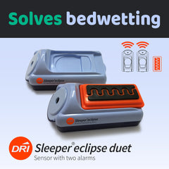 DRI Sleeper Eclipse: Bedwetting Sensor with Two Alarms