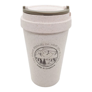Wheat Stalk Reusable Cups - River Rose