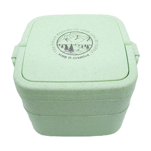 Wheat Stalk Square Lunchbox - River-Mint