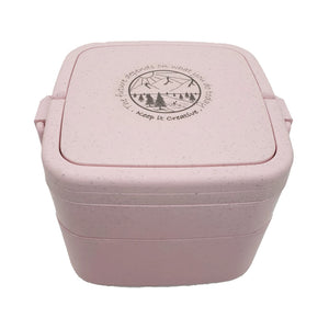 Wheat Stalk Square Lunchbox -River-Rose