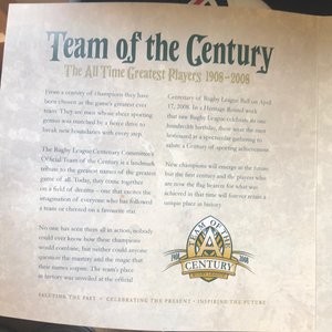 Team of the Century Collectors Edition Ball