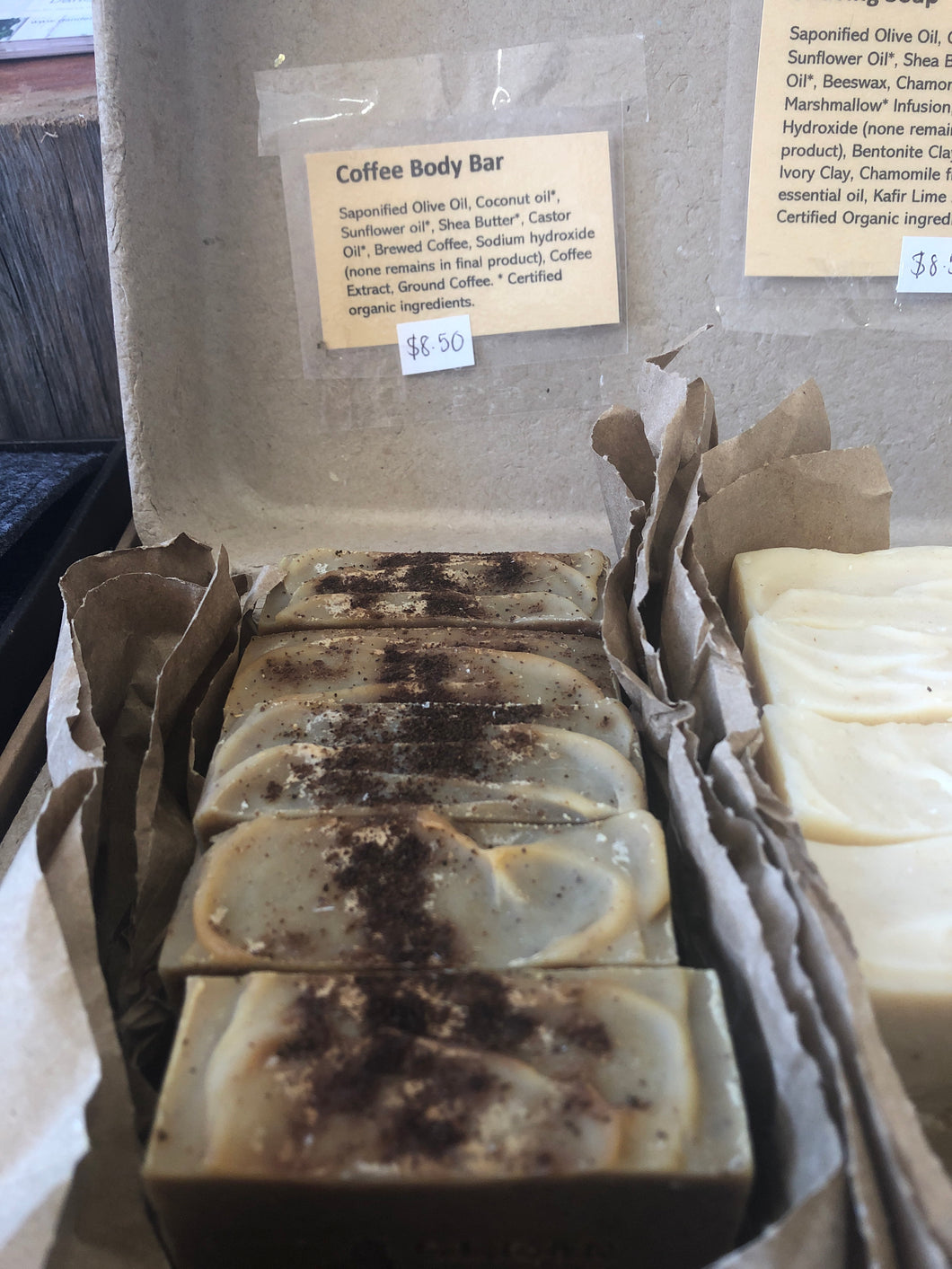 Coffee Body Bar Soap