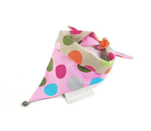 Cult Couture Scarf - Colorful Dots