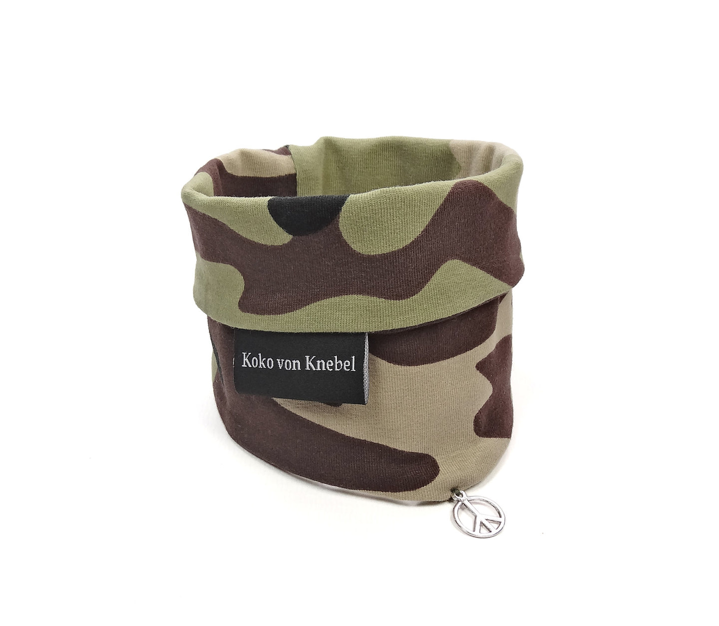 Cult Couture Muffler - Camouflage