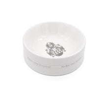 Load image into Gallery viewer, Crest Bowl White Sterling