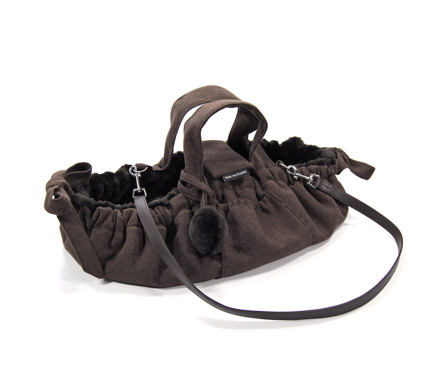 KvK Aida Hundetasche - Brown Fur