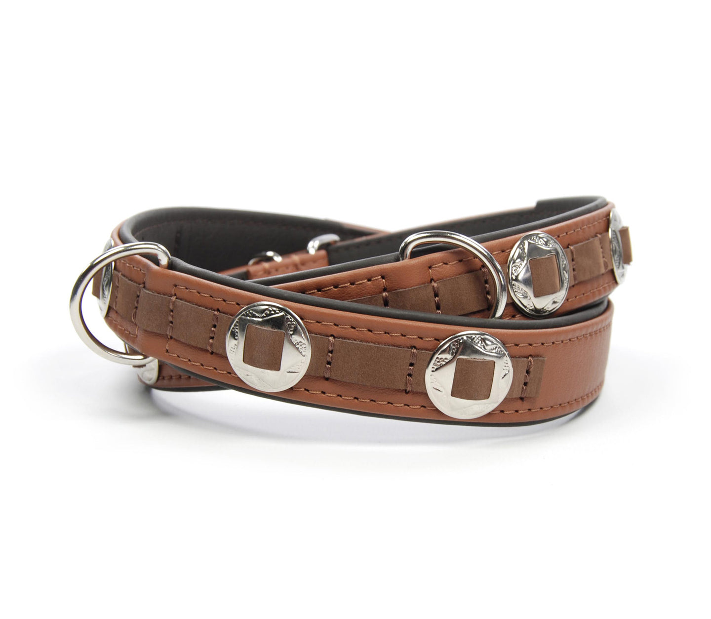 Handcrafted - Halsband Klassik Curved Concho Edition
