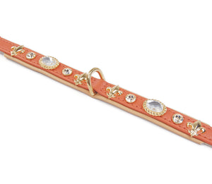 KvK Handcrafted - Classic Curved Collar - Fleurs & Bling