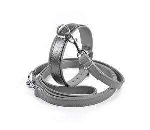 Handcrafted - Halsband Klassik Curved Silver Edition