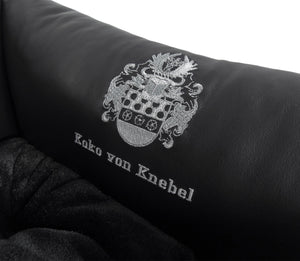 Super Soft Dog Lounge - Echtes Leder - Exklusiv Luxus