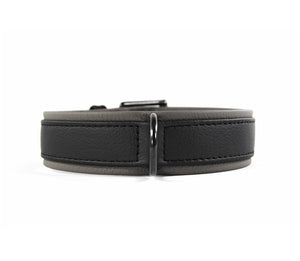 KvK Handcrafted - Halsband Klassik Curved Black Label