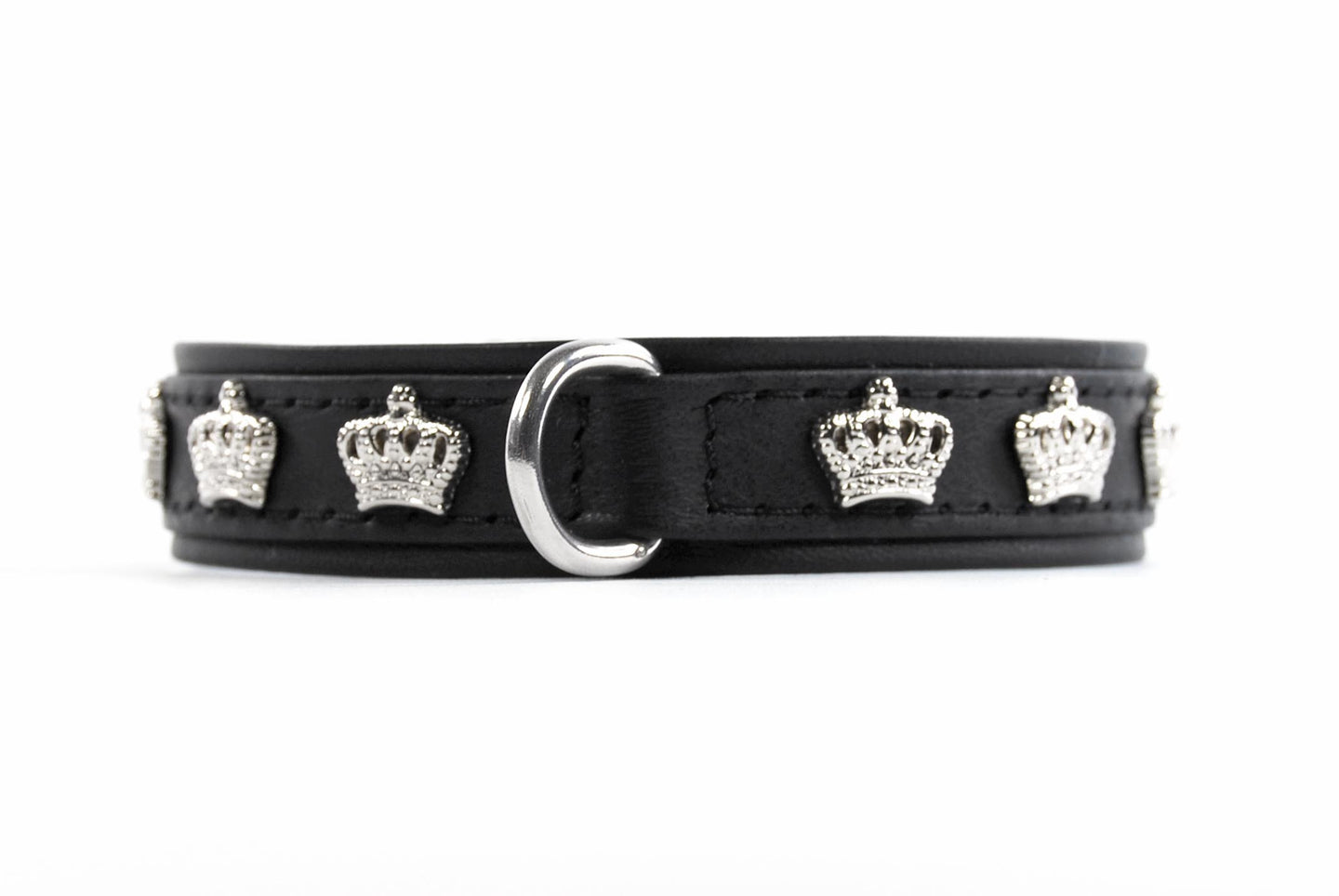 KvK Handcrafted Collar Crown Silver