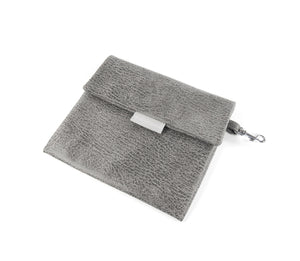 KvK Aida - Dog bag Silvergrey with mottled fur