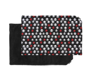 BlaMa - Blanket Mat - Cotton Plush Skull