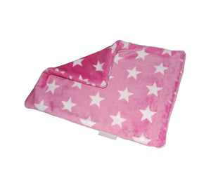Star Snuggle Blanket 2-Ply Super Soft