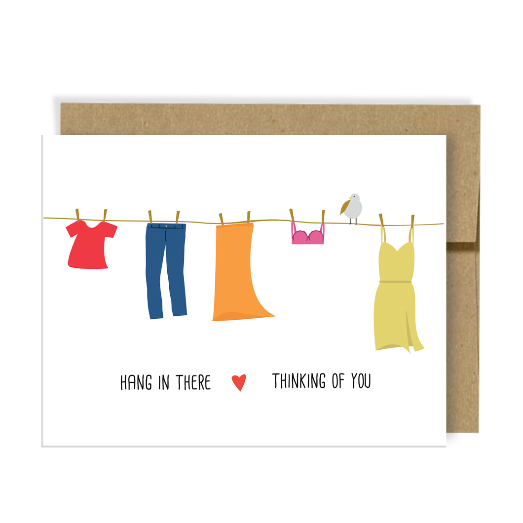 Hang in There - Thinking of You Card | Add On Item