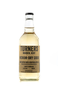 Turners Cider Medium Dry Cider 500ML