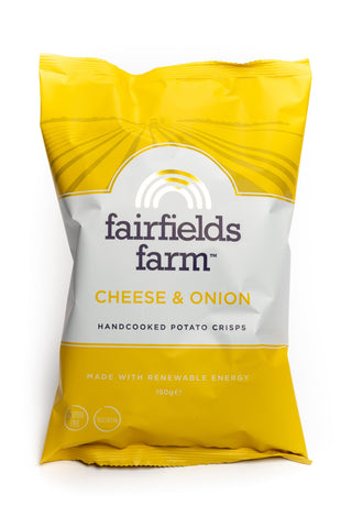 Fairfield Farm Cheese & Onion 150G