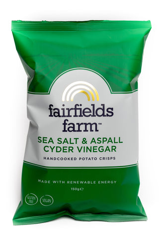 Fairfield Farm Salt & Vinegar 150G
