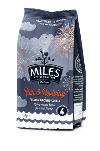Miles Ground Rich & Reviving Coffee 227G