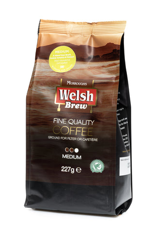 Murroughs Welsh Brew Medium Ground Coffee 227G