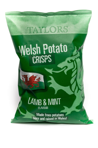 Taylors Welsh Crisps Lamb & Mint 150G