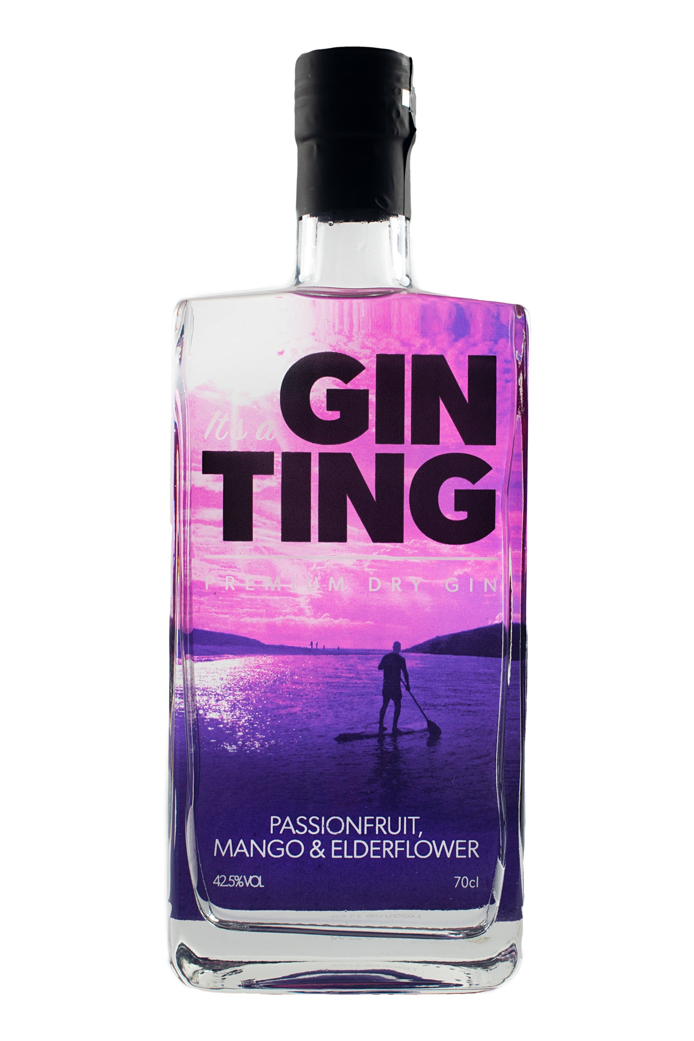 GinTing Passionfruit Mango & Elderflower 70CL