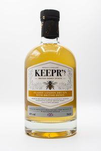 Keepr's classic London Dry with British Honey 70cl