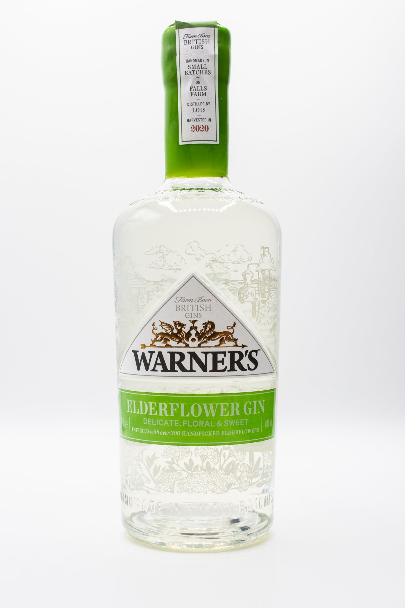 Warners Elderflower Gin 70cl