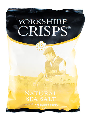 Yorkshire Crisps Sea Salt 150G