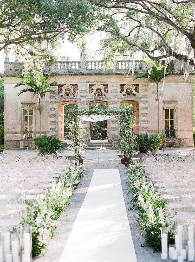Equestrian Vizcaya Wedding