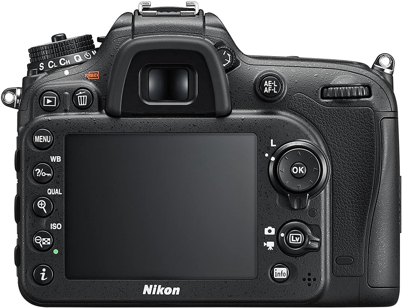 Nikon D7200 DX-format DSLR with 18-140mm VR Lens, Black