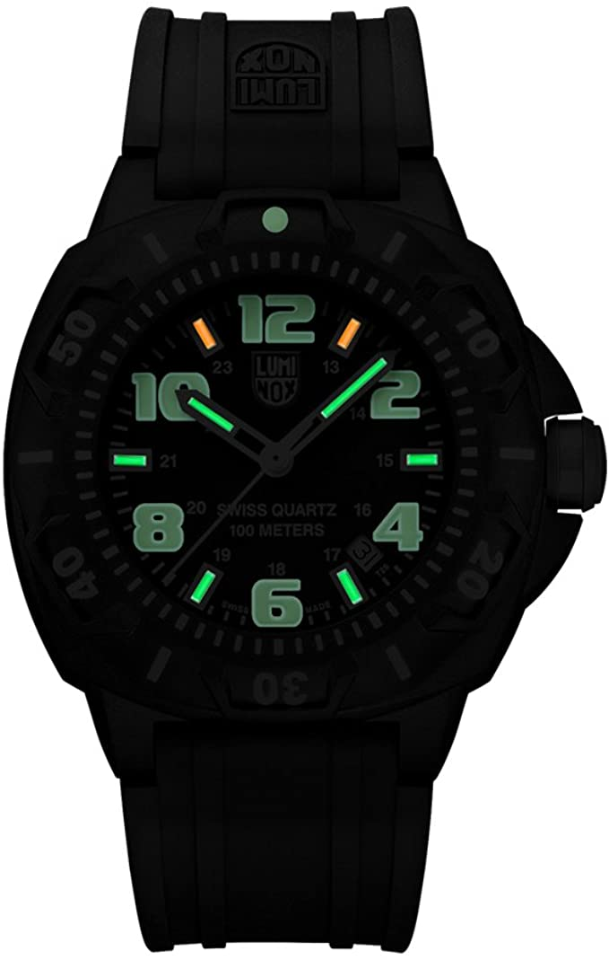 Luminox Sentry 0200 Series Analog Quartz Hardlex Crystal XL.0201.SL Men's Watch