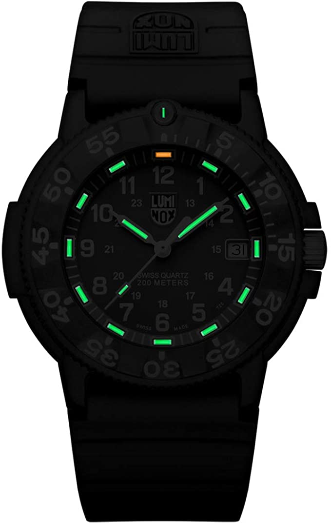 Luminox Original Navy SEAL 3000 Series Analog Quartz Hardlex Crystal XS.3003 Men's Watch