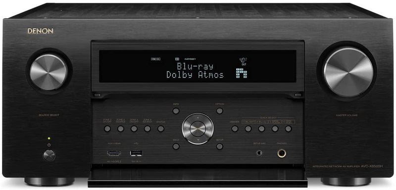 Denon AVR-X8500H AV Receiver with Alexa and HEOS