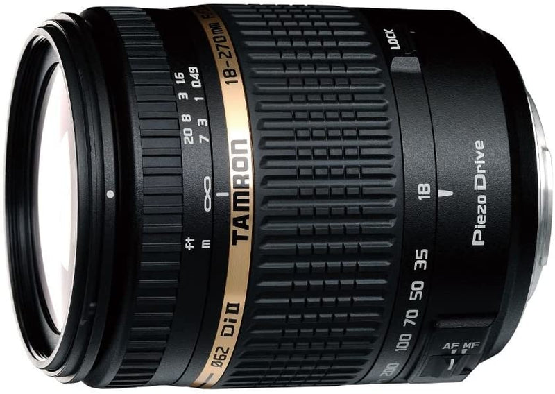 Tamron AF 18-270mm f/3.5-6.3 PZD All-In-One Zoom Lens with Built in Motor for Sony DSLR Cameras