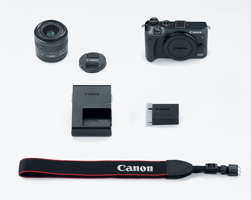 Canon EOS M6 Mirrorless DSLR Camera