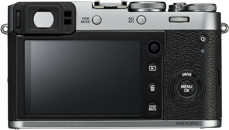 Fujifilm X Series X100F 24.3 MP Compact Digital Camera - 1080p - Silver