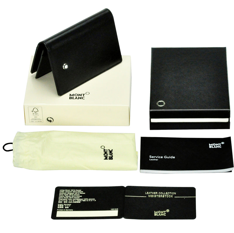 Montblanc Meisterstuck Business Card Holder with Gusset 7167