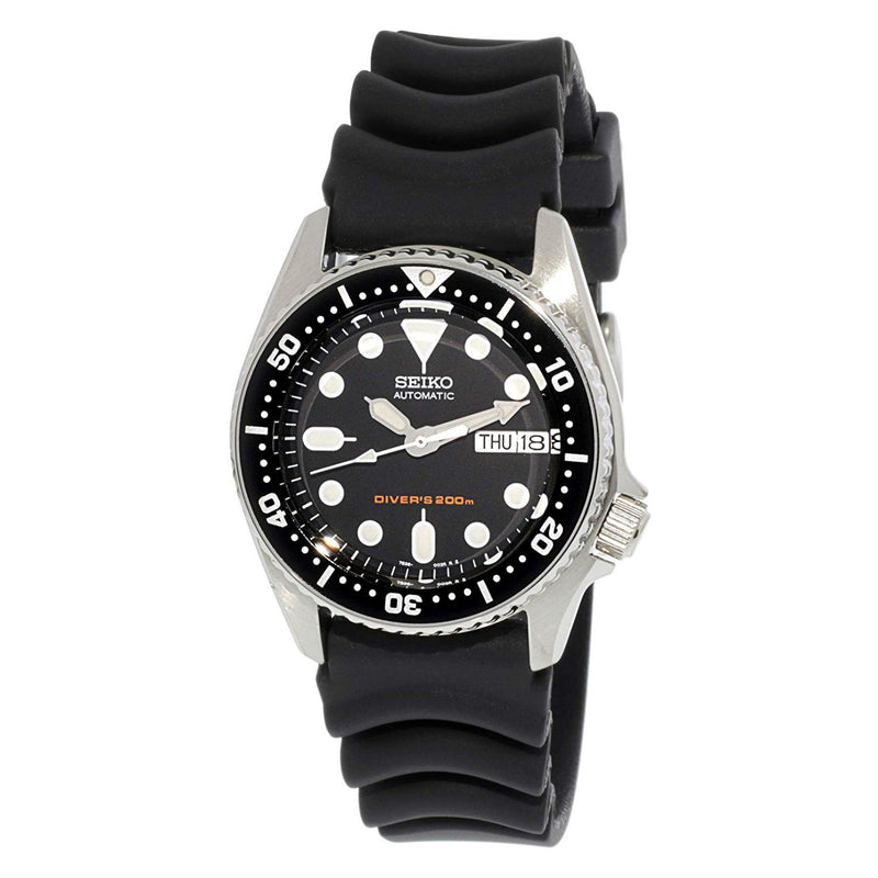 Pre Owned Seiko Diver's Automatic Day/Date 200M Hardlex Crystal SKX013K1 Men's Watch