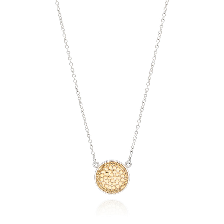 Anna Beck Disc Reversible Two Tone Necklace