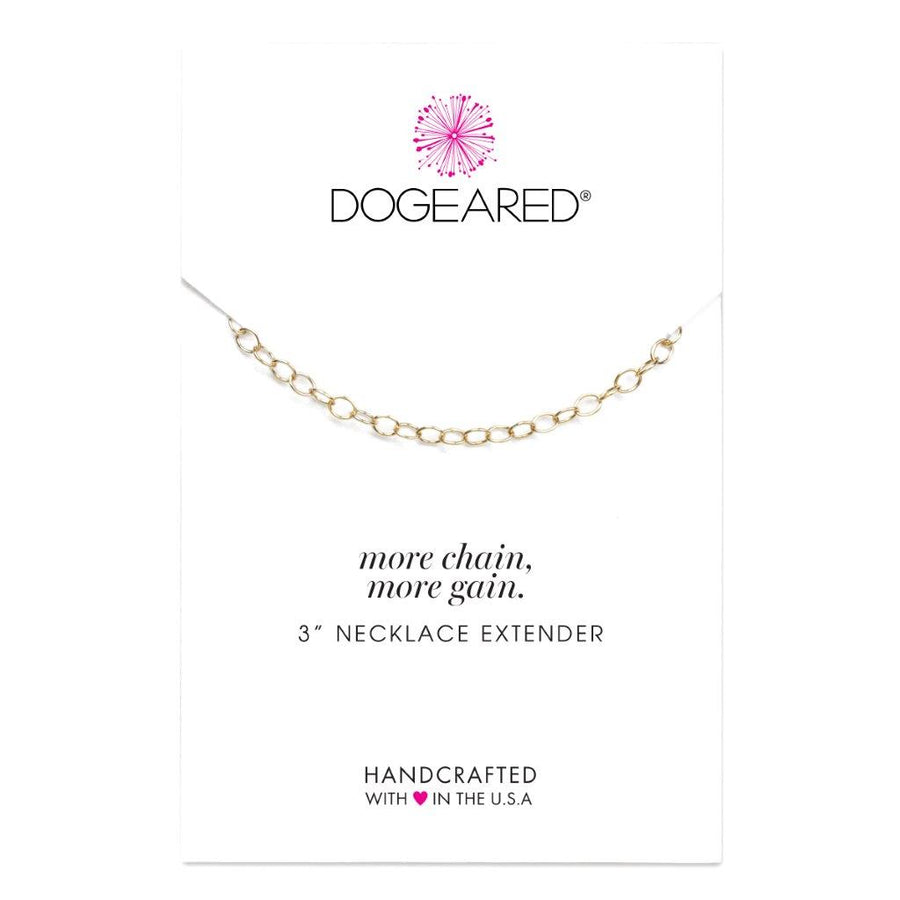 Dogeared Gold 'More Chain!' 3