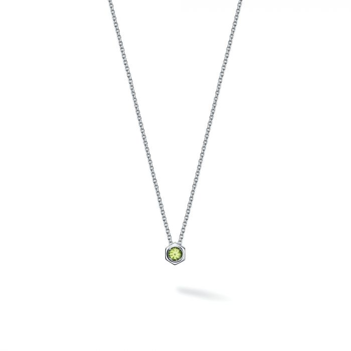 Birks Sterling Bee Chic Peridot Necklace